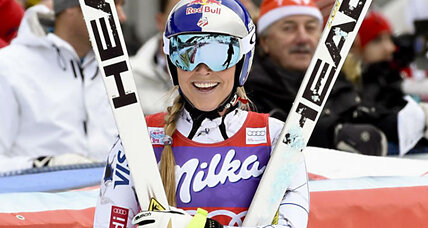 Lindsey Vonn wins downhill race, ties 36-year record for downhill victories